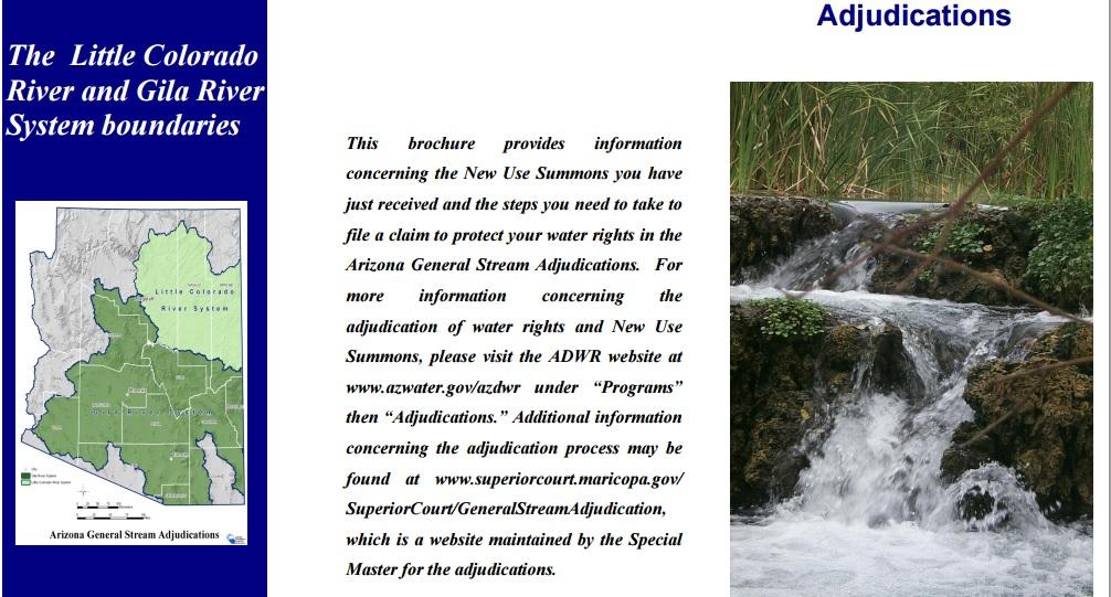 Adjudications