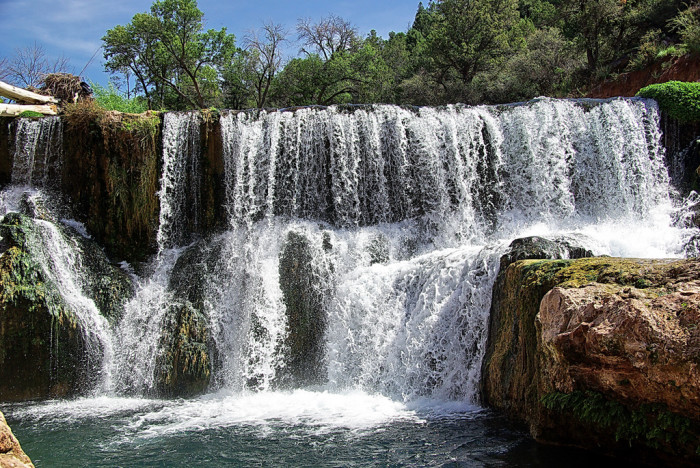 Fossil Creek between Payson & Camp Verde, AZ
