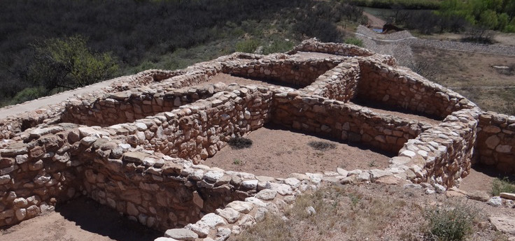 Tuzigoot National Monument Clarkdale-az-wild-west